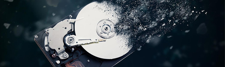 Destruction disque-dur sur site